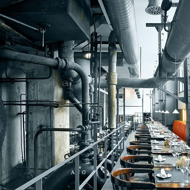 Casino Zollverein Kompressorenhalle