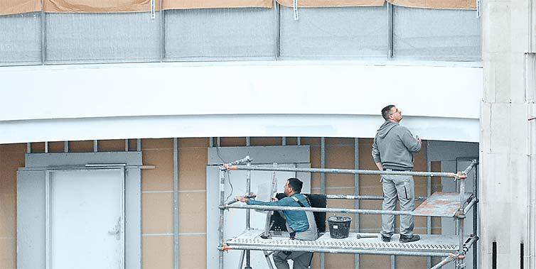 Bauhandwerk und Technik am Bau