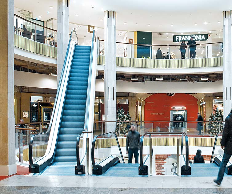 Einkaufscenter Ladenlokal