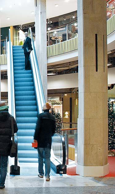 Umbau im laufenden Betrieb · Einkaufscenter