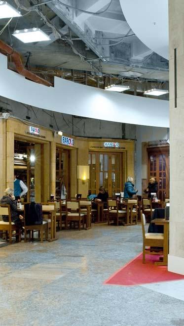 Umbau Einkaufszentrum Centerkonzept